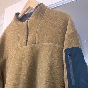 Men's Extra Large 1/4 Zip Arc'teryx Fleece